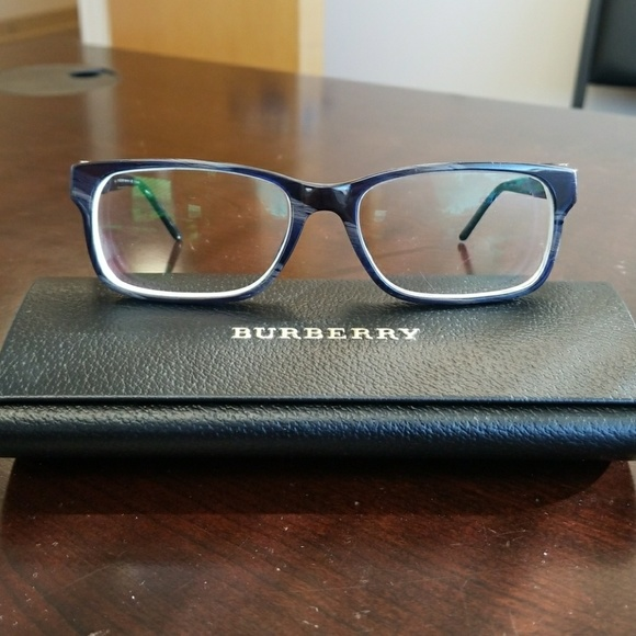 adda65f2cfdf Burberry Accessories - BURBERRY BE2150 Prescription Glasses Blue Frames